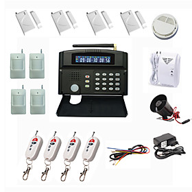 GSM Wireless Home Security System Alarm Auto-Dial 24 Wireless Zone