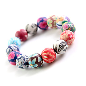 Original Hand-woven and  High Quality Ceramics Bracelet(Ethnic Fashion, Christmas Gifts)