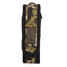 Ultrafire Camouflage Color Nylon Flashlight Holster (Small)