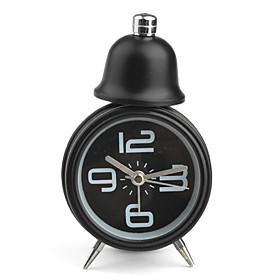 Single Bell Design Desktop Alarm Clock (1xAA)