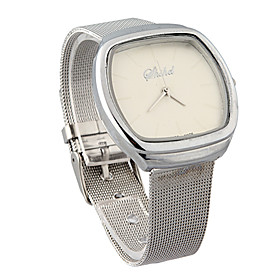 Fashion Quartz Movement Rectangle Shape Watch More Colors Available