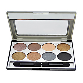 MBL 8 color eye shadow Palette with Free Brush(2#)