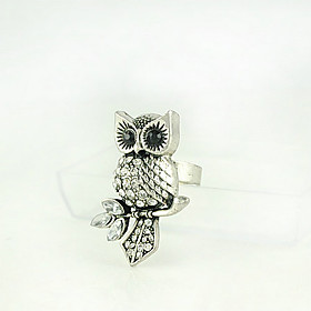 Owl and Branch Ring