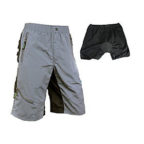 Santic - Mens Cycling Mtb Elite Short With Cushion And Detachable Pad