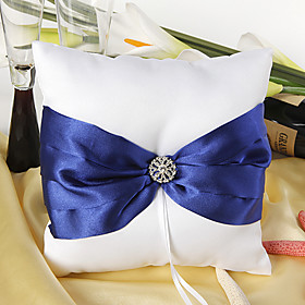 Splendor Royal Blue Ring Pillow
