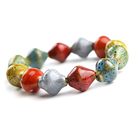 Original Hand-woven and  High Quality Ceramics Bracelet(Meteor, Christmas Gifts)