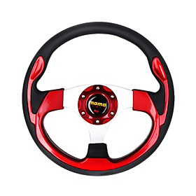Automotive Steering Wheel - 32cm, Red