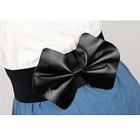 TS Big Bow-tie Wide Belt