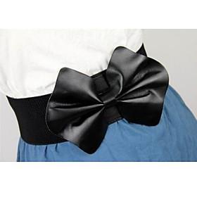 TS Big Bow-tie Wide Belt