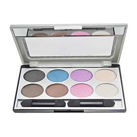 MBL 8 color eye shadow Palette with Free Brush(1#)