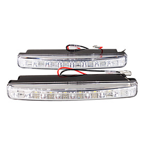 Car Daytime Running Light/Fog Light (2 PCS, 8 SMD LED)