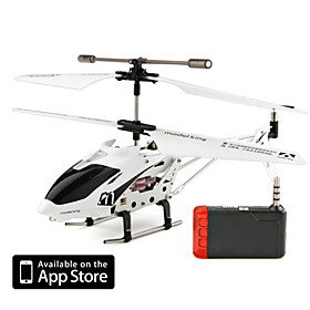 3.5 Channel Alloy i Helicopter with Gyro for iPhone, iTouch and