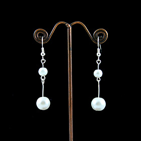 20% off Fabulous Imitation Pearls  Wedding Bridal Earrings