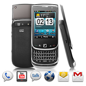Europa - Android 2.3 Touchscreen Slide Smartphone   QWERTY Keyboard (Dual SIM, GPS, WIFI)