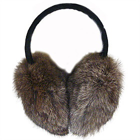 TS Rabbit Fur Ear Muffs