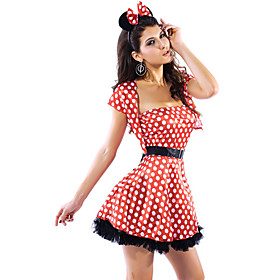 Lovely Acrylic Ruffles Costume