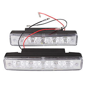 Car Daytime Running Light/Fog Light (2 PCS, 5 OVAL LED)
