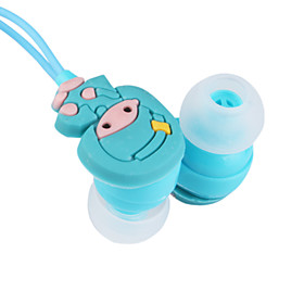 3.5mm Stereo Cartoon Fashion In-ear MP3/MP4 Headphone