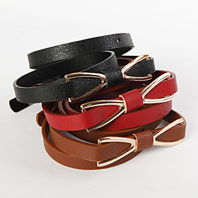 TS Bow Tie Shaped Buckle Wide Belt