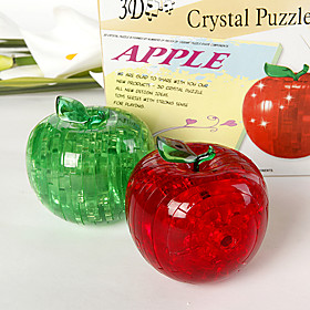 3D Crystal Puzzle - Apple
