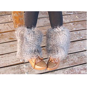 Wool Leg Warmers 20CM Length