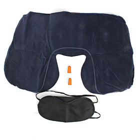 3 in 1 Travel Kit, Pillow, Eyeshade and Earplugs