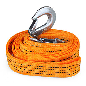 Car Truck Tow Rope Strap With Hooks(3 Meters, 3 Tons)