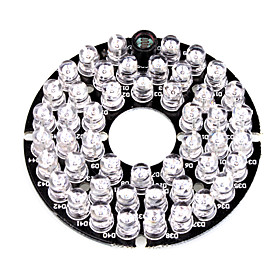 Infrared 48-LED Illuminator Board Plate for 3.6mm Lens CCTV Security Camera