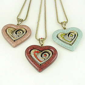 Double Heart Sweater Chain
