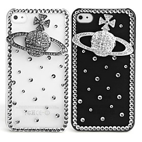 Fashionable Diamond Case for iPhone 4 / 4S (Saturn, Handmade)