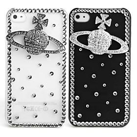 Fashionable Diamond Case for iPhone 4 / 4S (Saturn, Handmade)