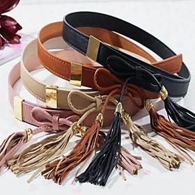 TS Bow Tie Tassel Belt