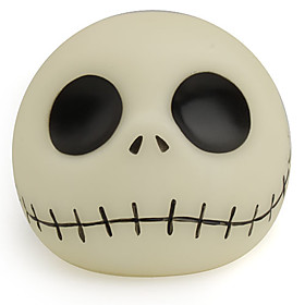 Funny Fluorescent Ghost Head Shaped Coin Bank