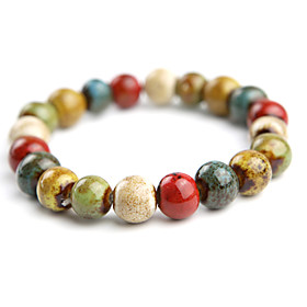 Original Hand-woven and  High Quality Ceramics Bracelet(Classic, Christmas Gifts)