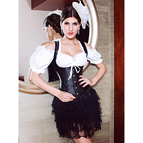 Satin Non-Adjustable Straps Corsets Special Occasion Shapewear
