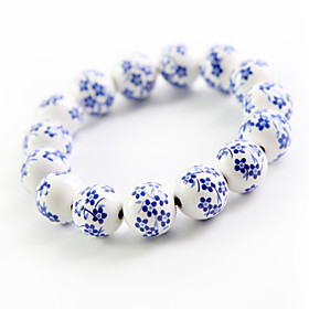 Original Hand-woven and  High Quality Ceramics Bracelet(China Style, Christmas Gifts)