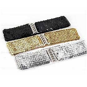 TS Elastic Sparkly Waist Belt (More Colors)