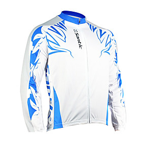 Santic - Men's Cycling Jacket  with 100% Polyster  Winter 2011  White Color