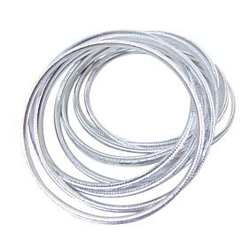 10 Pieces Aluminum Belly Dance Bracelets More Colors Available