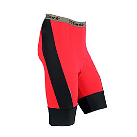 Santic - Mens Coolmax Material Cycling 1/2 Shorts Constrasted Color