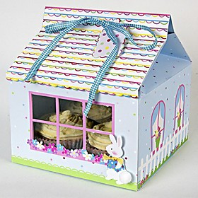 Lovely Rabbit Cake Box(set of 12)