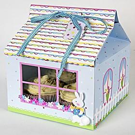Lovely Rabbit Cake Box(set of 12)