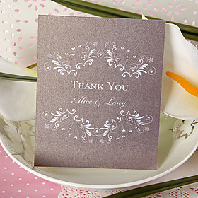 Thank You Card - Simple Vintage (set of 50)