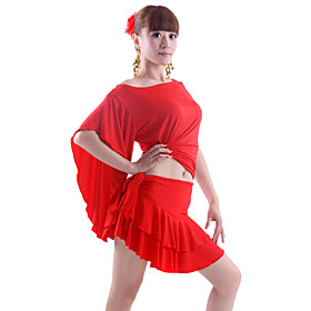 Dancewear Polyester Practice Outfits For Ladies