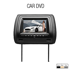 7 Inch Digital Screen Car Headrest DVD Player (FM Transmitter, USB/SD, Game)