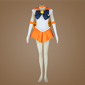 Sailor Moon Minako Aino/Sailor Venus Cosplay Costume