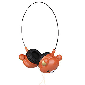 3.5mm Stereo Lovely Bear Over-ear Headphone