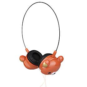 3.5mm Stereo Lovely Bear Over-ear Headphone