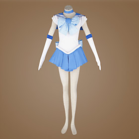 Sailor Moon Ami Mizuno/Sailor Mercury Cosplay Costume