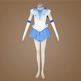 Sailor Moon Ami Mizuno/Sailor Mercury Cosplay Costume